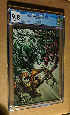 Absolute Carnage Separation Anxiety #1 1:100 Crain Virgin Variant CGC 9.8 NM+/M