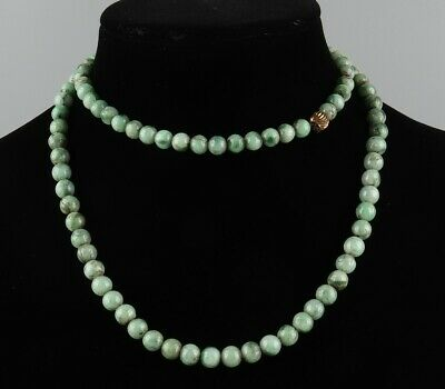 Chinese Exquisite Handmade jadeite jade necklace