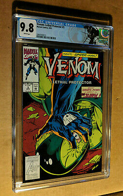 Venom Lethal Protector #3 1st Print Bagely Cover Spiderman CGC 9.8 NM+/M Label