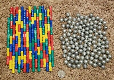 #721 Mechanics Geomag 86 Piece Magnetic Builsing Construction Toy Ages 5