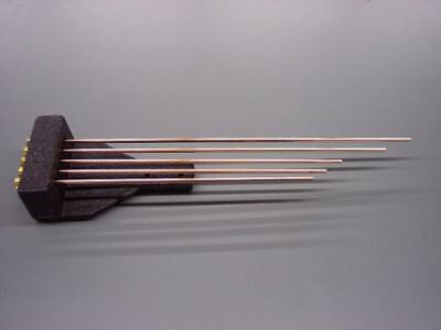 NEW WESTMINSTER CLOCK CHIME RODS WITH BLOCK -- service repair movement parts