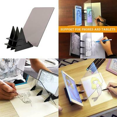 Optical Art Sketch Tracing Board Drawing Projector Copy Paint Light Pad Panel/