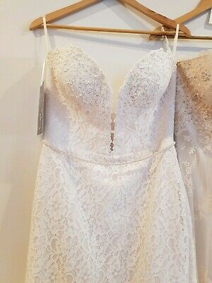 Couture Wedding Dress 'Frankie' - size 12 NWT (RRP $3,499)