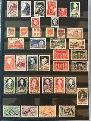 Timbres France Annee 1949 Côte 90 Euros