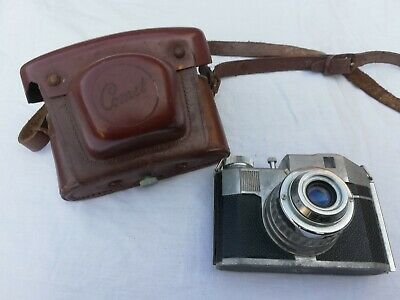 Bencini Comet S Vintage Italian Camera With Lens & Leather Case