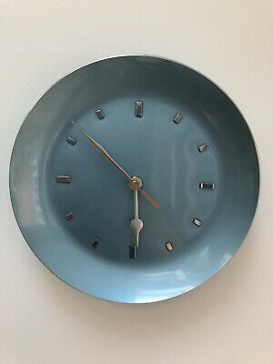 French Enamel Faced Clock Very Cool