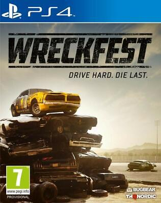 Wreckfest | PlayStation 4 PS4 New
