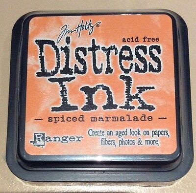 """SPICED MARMALADE"" DISTRESS INK PAD, Tim Holtz Ranger"
