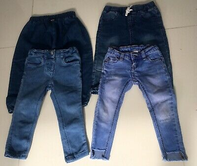 4 X Girls jeans  Size 2 - 3  Seed and bonds