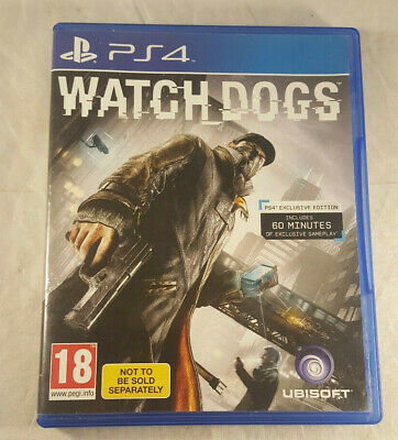 WATCH DOGS, PS4, playstation 4