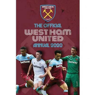 West Ham United Utd Fc A4 Hard Back Book 100% Official Annual 2020