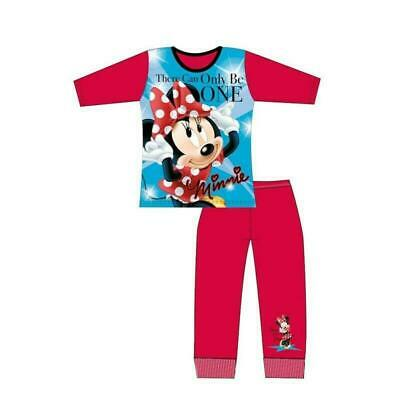 Girls Minnie Mouse Disney Pajamas Official Kids