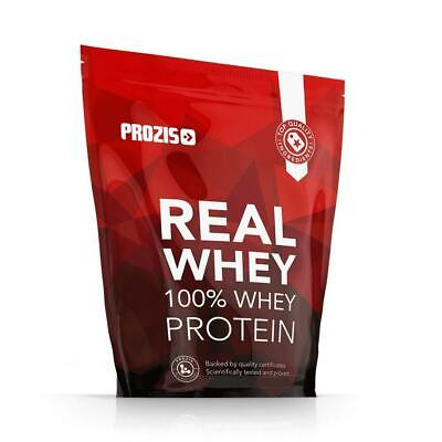 Prozis 100% Real Whey Proteine in Polvere, 1000 g, Naturale