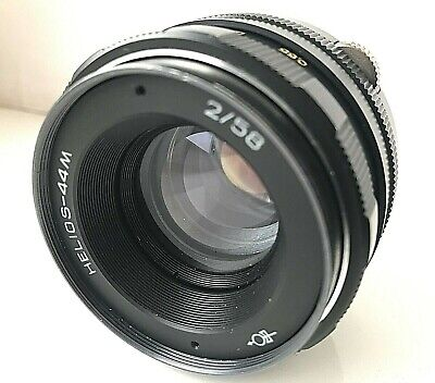 Helios 44M Soviet lens F2/58mm M42 mount Excellent condition 1980 year made