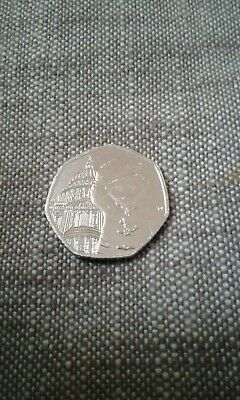 PADDINGTON BEAR 50p PENCE AT ST PAUL'S COIN 2019 UNCIRCULATED FROM SEALED BAG