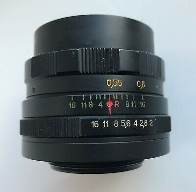 Helios-44M Soviet lens f2/58mm M42 mount Excellent condition 1981 year made