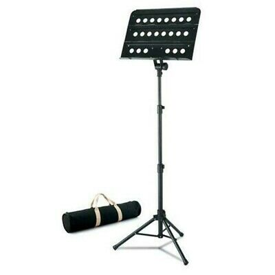Musica Folding Orchestral Music Stand With Carry Bag