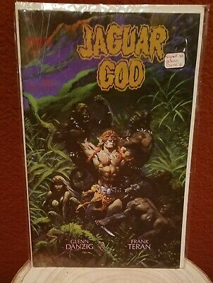 JAGUAR GOD #1 Signed by GLENN DANZIG - EXCELLENT PROTECTED CONDITION