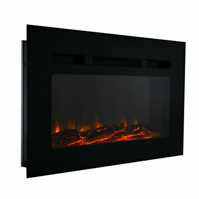 """RV Fireplace 30"""" Recessed Electric Fireplace 3 Flame Color Settings"""