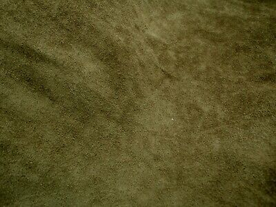 Cowhide Suede Shoe Leather Aubergine 50 x 40 cm 1.8-2.0 mm Thick Firm Feel.