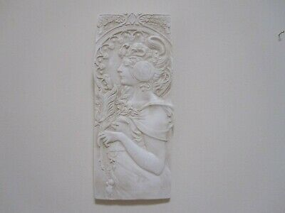 Stunning Shabby Chic   Art Deco  Wall Hanging  Lady Plaques.