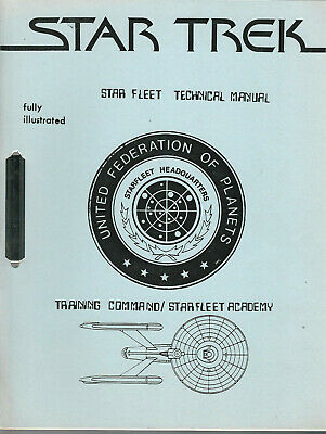 Star Trek Star Fleet Technical Manual Training Command  Fanzine