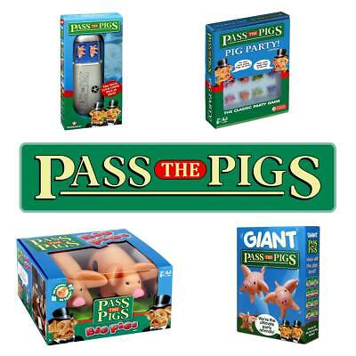 Pass The Pigs Travel, Party, Big and Giant Editions for 2019 Brand New & Sealed