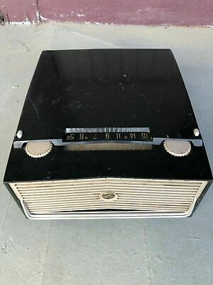 Vintage 1955 Rca Victor 6By4B Skipper Record Player Radio Portable Tube Rare