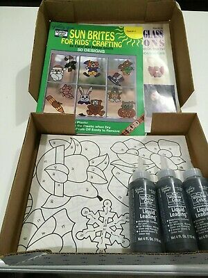 Gallery Glas     Leading & Static  Cling   Patterns Etc -  Craft Set  Kids   New