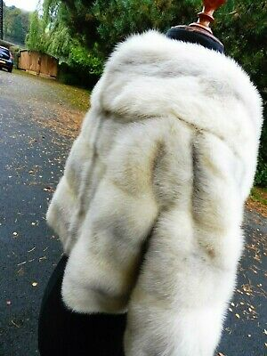 Vintage grey mink fur evening/cocktail jacket, beautiful!