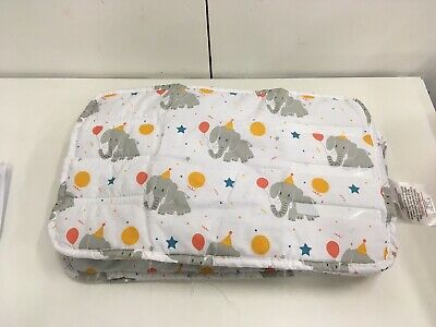 Lily & Dan Baby Cot Bumpers: Elephant Design