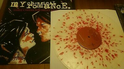 MY CHEMICAL ROMANCE THREE CHEERS FOR SWEET REVENGE COLOR VINYL LP fall out boy