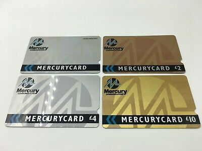 X4 Mercury Card Early Complimentary Phonecards