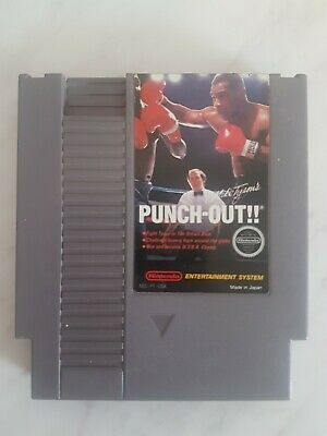 Mike Tyson's Punch Out  - Authentic Nintendo NES Game