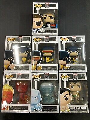 funko pop marvel 80th anniversary first appearance Lot,#528,505,502,503,500,504