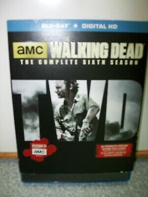 THE WALKING DEAD, THE COMPLETE SIXTH SEASON  BLU-RAY  Does not have Digital