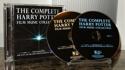 THE COMPLETE HARRY POTTER FILM MUSIC COLLECTION 2012 TWO CD SET john williams