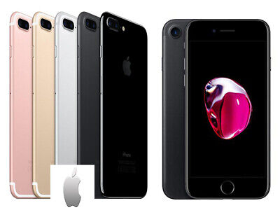 Apple iPhone 7 32GB 128GB 256GB Unlocked SIM Free Smartphone Colours Grades