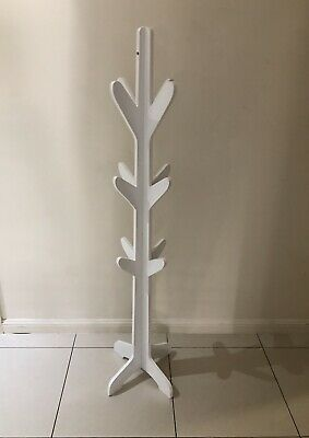 Children's hat/coat stand white