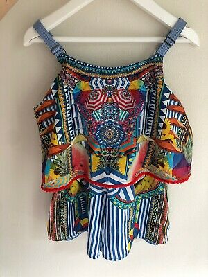 BNWT Girls Camilla Jumpsuit With Pockets Size 4