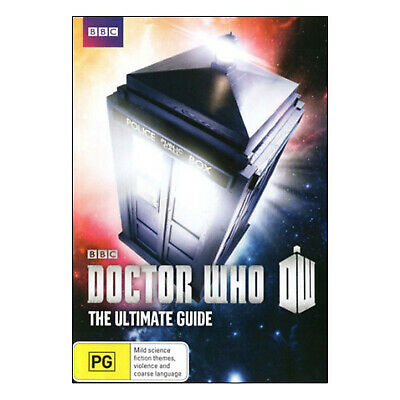 Doctor Who: The Ultimate Guide DVD New Region 4 Aust - Matt Smith, Jenna Coleman