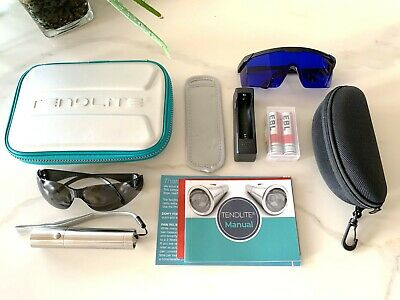 TENDLITE® Red Led Light Therapy Device + Extra Blue Light Safety Goggles in case