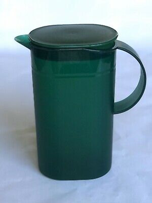 Tupperware 3535A-2 500ml Small Pitcher Green! Push Open Lid Fast Shipping