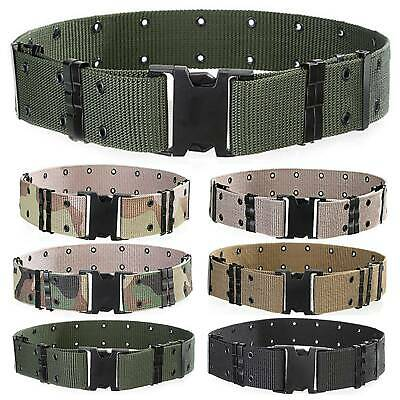 Outdoor Army Military Belt Fashion Men Tactical Sports Nylon Combat Waistband