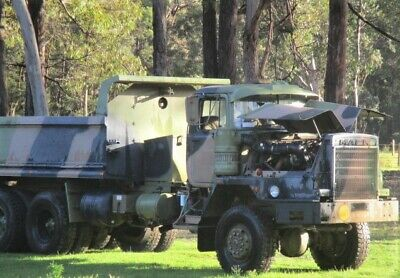 Mack R6x6 ex army truck 6 wheel drive 1983 excellent condition 198243 km's