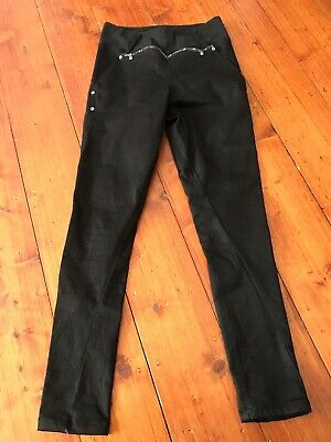 Oki Ladies Maternity Pants Black Size 9