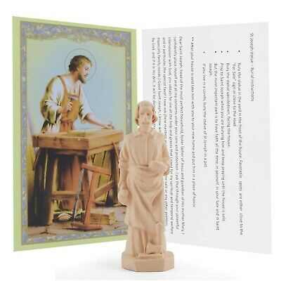 Saint Joseph Statue Home Seller House Selling Kit with Instrutions and Prayer...