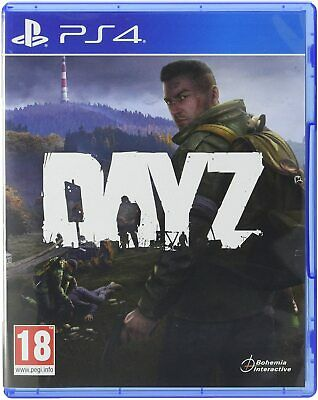 Dayz Sony PS4 MMORPG Online Zombie Apocalypse Real Locations Game Playstation 4