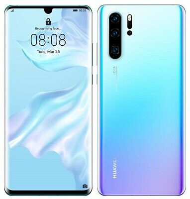 Huawei P30 Pro 4G Smartphone 8GB 128GB Unlocked Breathing Crystal(Smashed Back)C