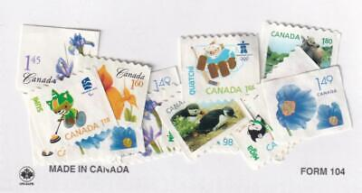 Canada variety pack 90¢ to $1.80, FV $25, no gum, uncancelled [L6]